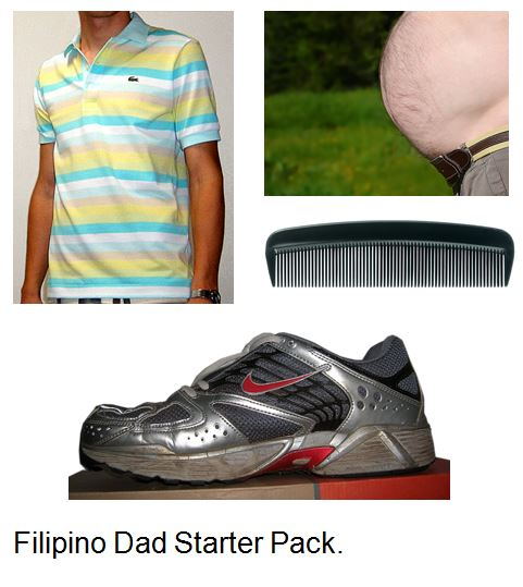 Filipino dad: typical appearance
