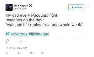 Filipino dad: Manny Pacquiao fan