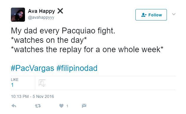 Filipino dad: Manny Pacquiao fan