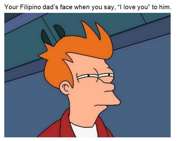 Suspicious Filipino dad