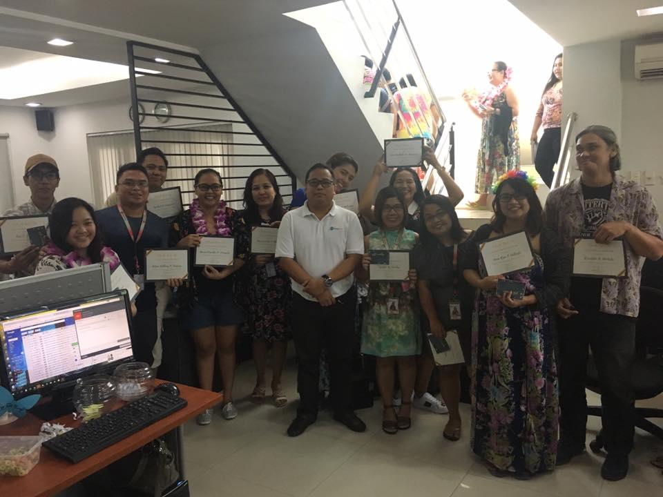 FilWeb Asia - 10-Year Loyalty Awardees
