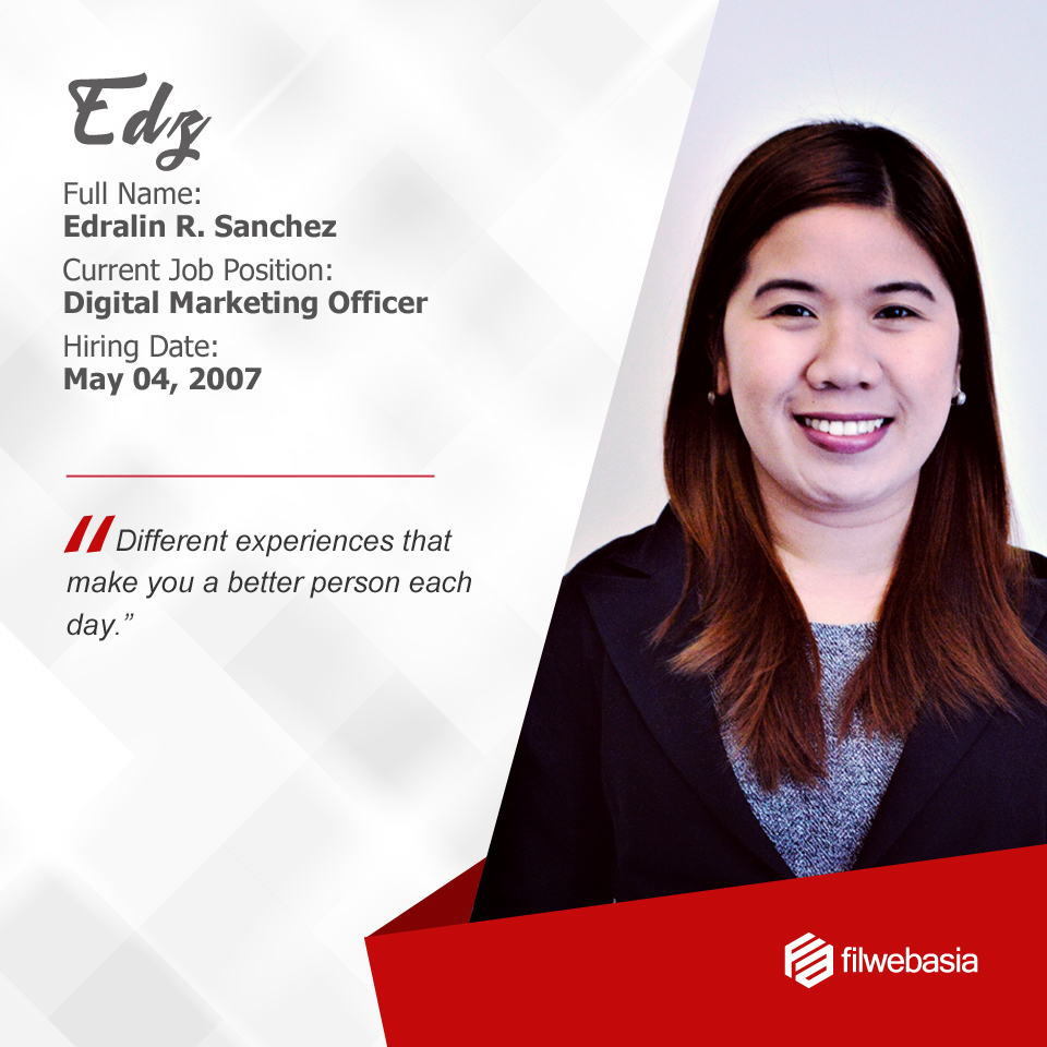 FilWeb Asia's longtime employees - Edz