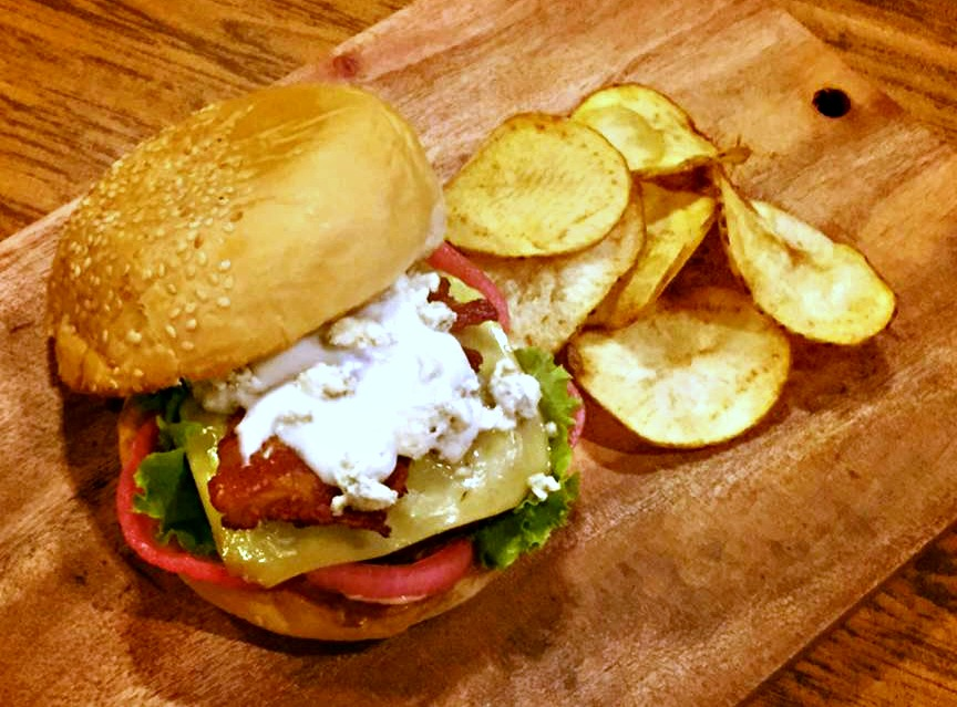 Bistro Lab Blue Bayou Burger