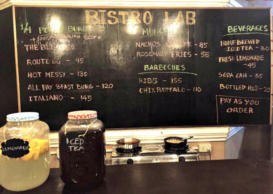 Food trip destionations under 300 - Bistro Lab