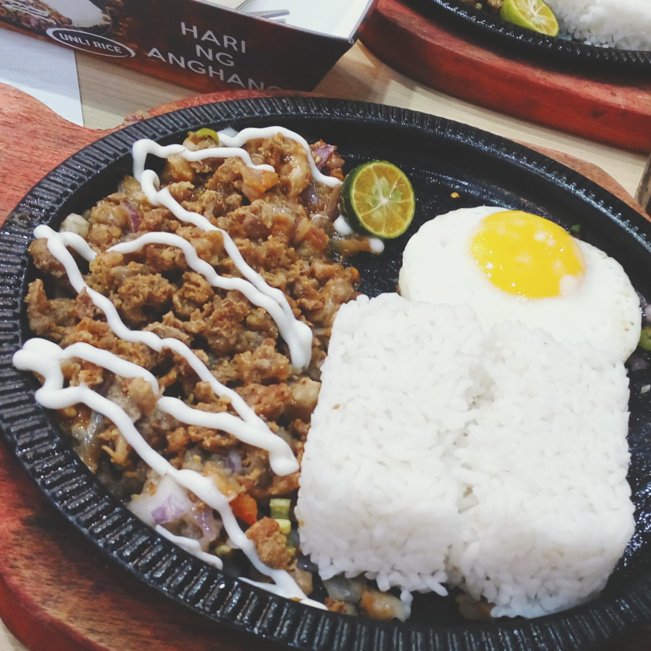 King Sisig Pork Sisig