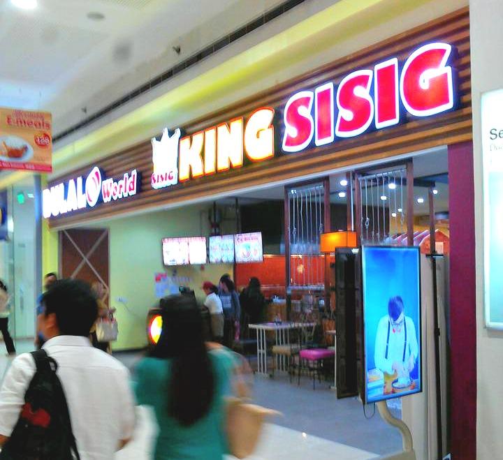 King Sisig SM Munti