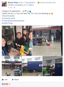 CDD Manager Shares Flood Experience on Facebook