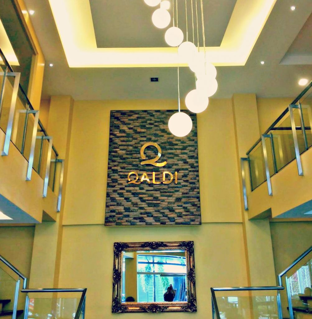 Qaldi Cafe interior