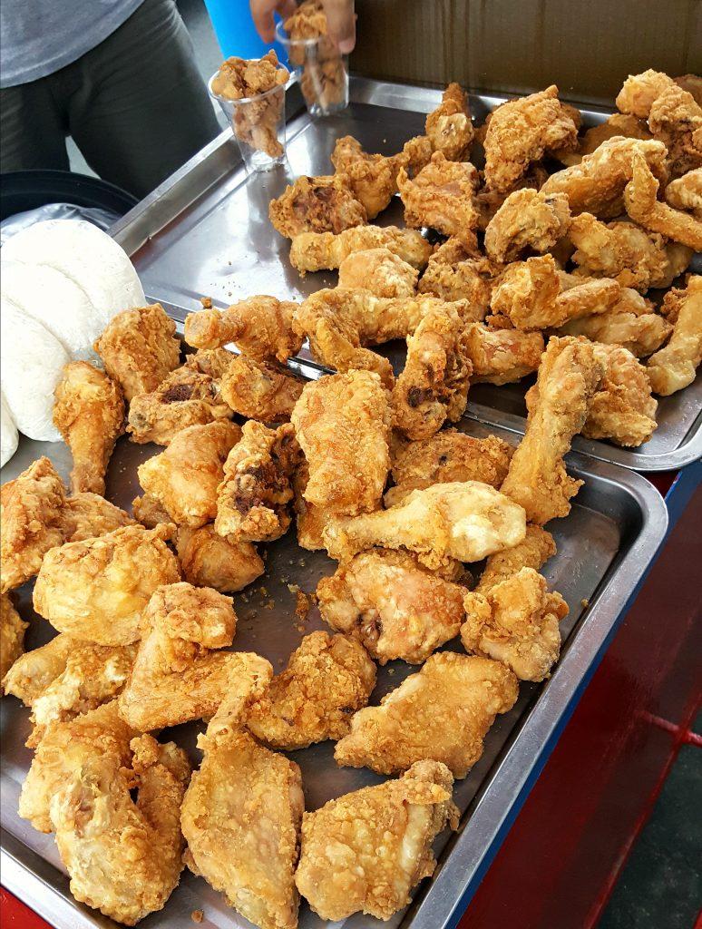 Sidewalk fried chicken