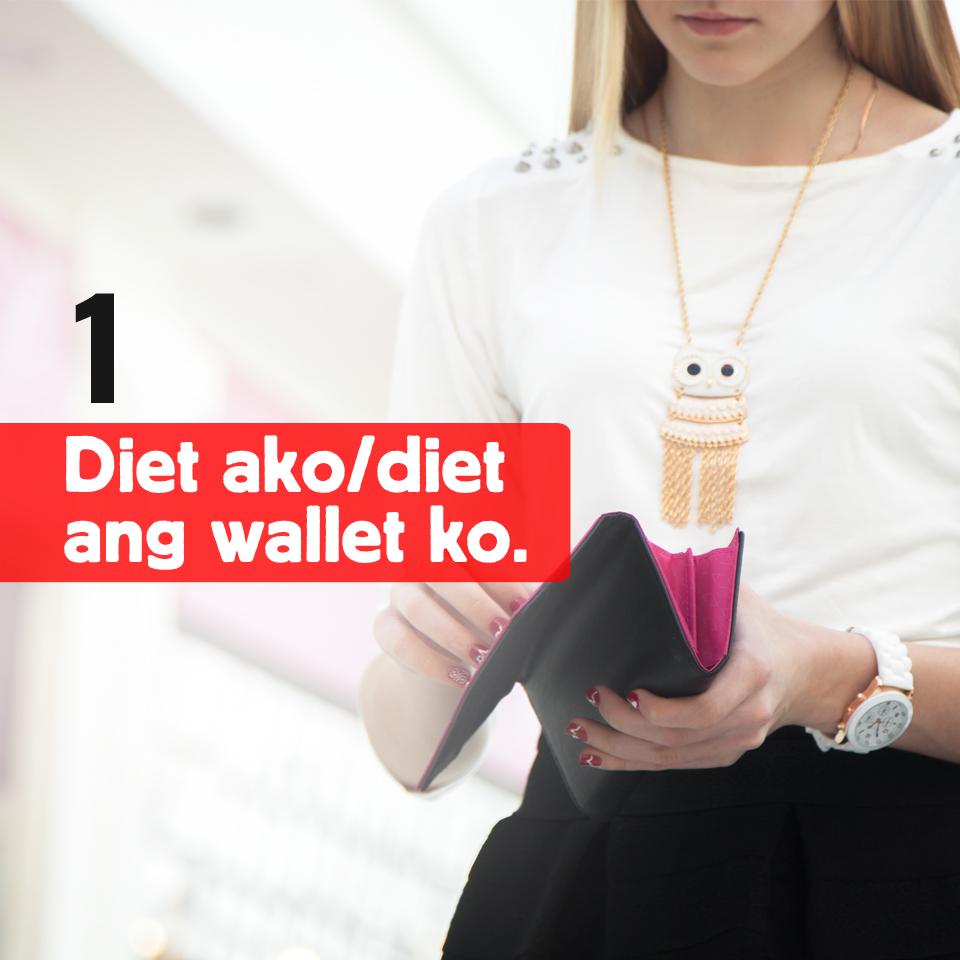 1-Diet ako o diet ang wallet ko