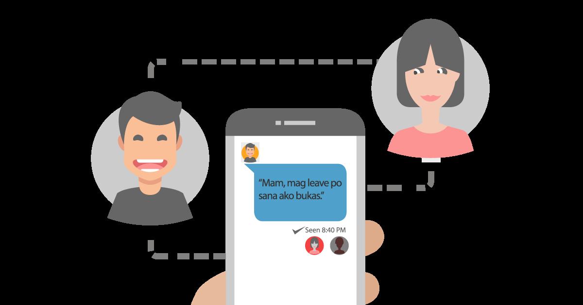 katatakutang dinaranas ng mga empleyado seenzoned on chat