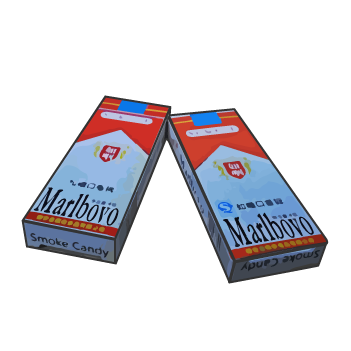 Popular 90s Kids Snacks - Cigarette Candies