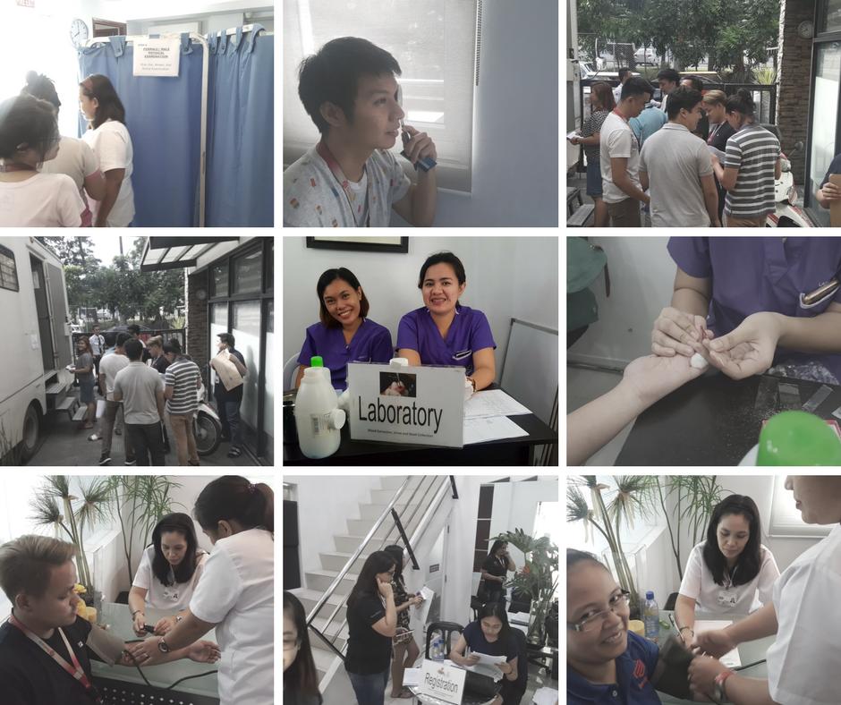 FilWeb Asia Annual Medical Checkup 2017