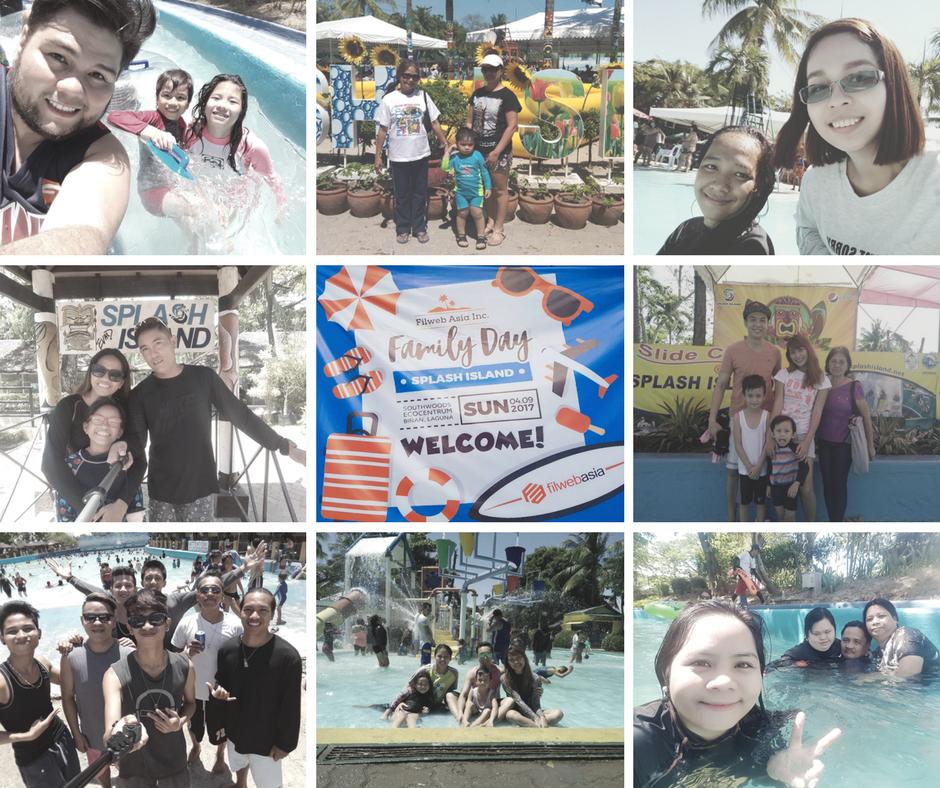 FilWeb Asia Family Day at Splash Island 2017