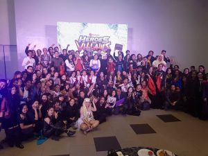 FilWeb Asia's Christmas Party 2017 group picture