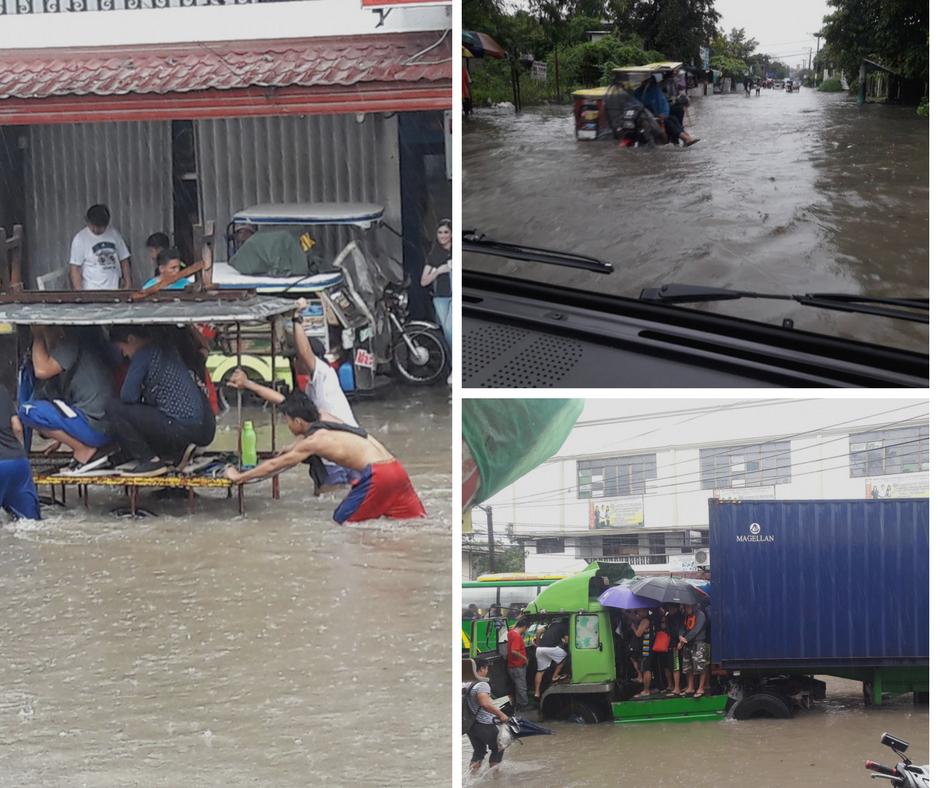 Typhoon Lannie and Maring - Flood in San Pedro 20178