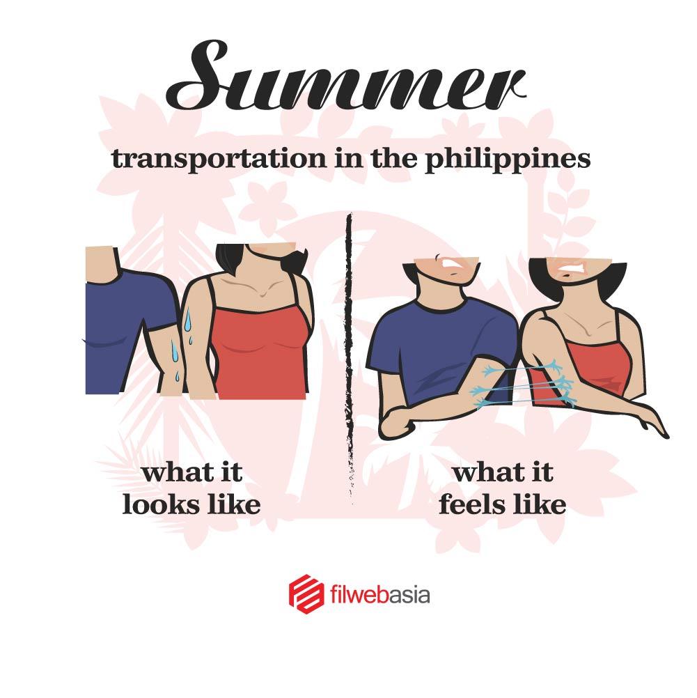summer na naman at ang lagkit magcommute