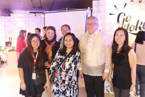 FilWeb Asia's Digital Content and Marketing Team with DTI Secretary Ramon M. Lopez