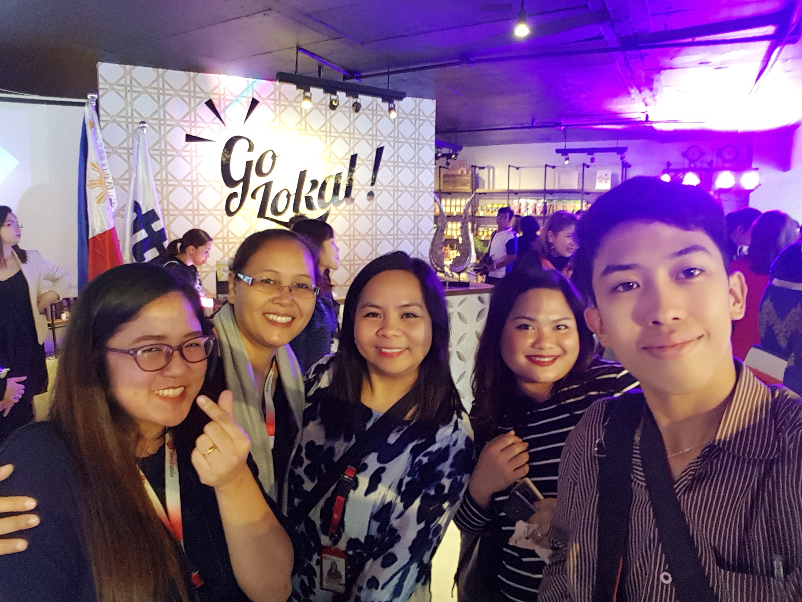 FilWeb Asia's Digital Marketing Team Joins Go Lokal! Buyers' Day