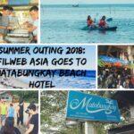 FilWeb Asia's Matabungkay Summer Escapade 2018