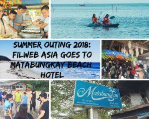 FilWeb Asia goes to Matabungkay Beach Hotel