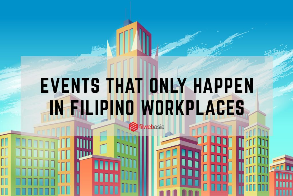Filipino workplace culture 9 events that only happen in a Filipino workplace vector