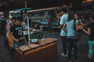 philippine federalism a busy street in Manila