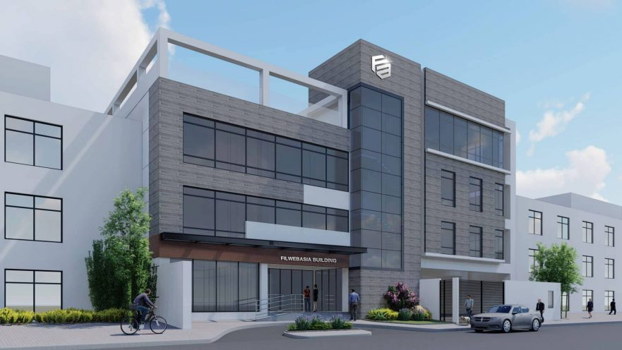 new building design FilWeb Asia Inc., a company headed by Larry Mercado