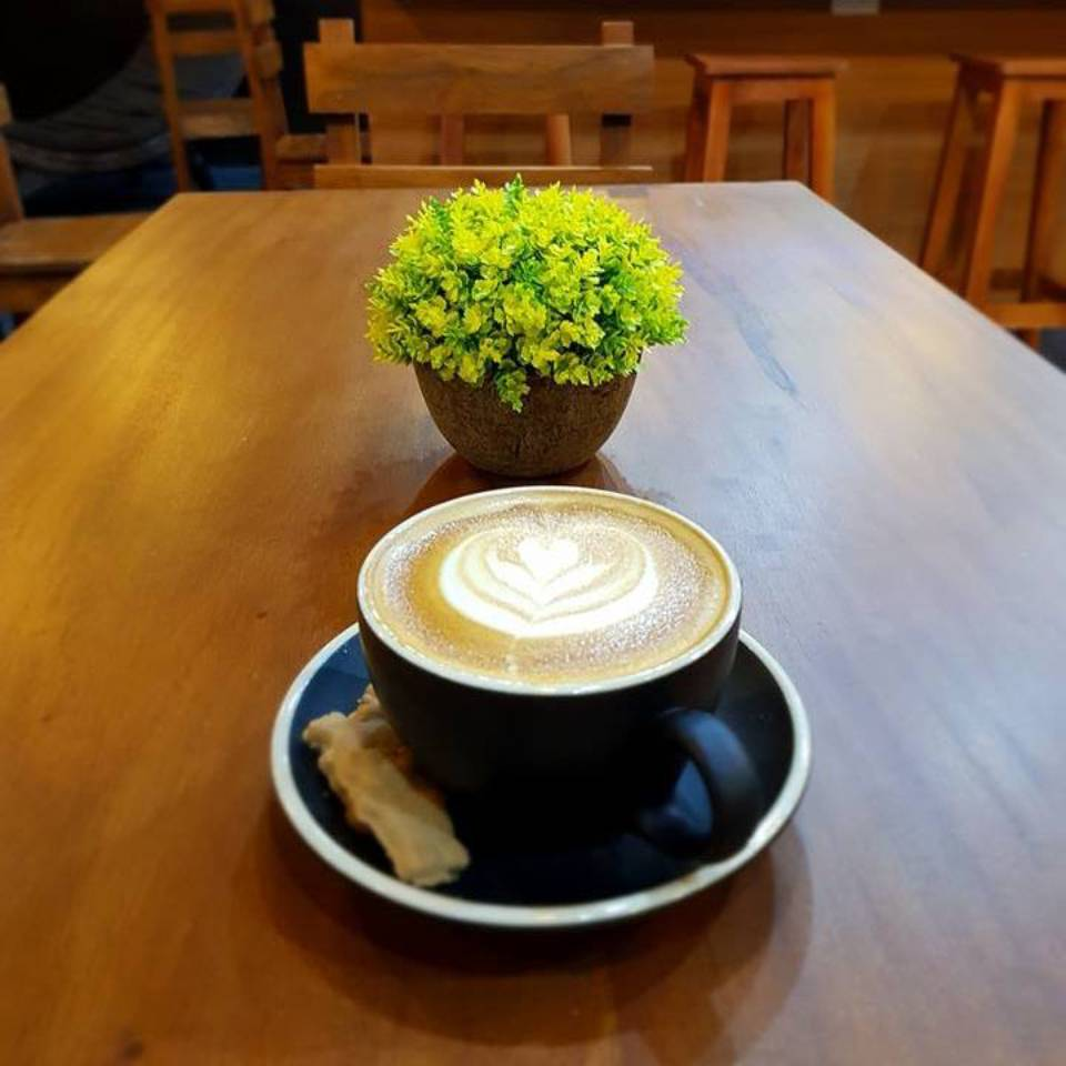 Coffee-based drinks at Bricx Café and Bistro Bar