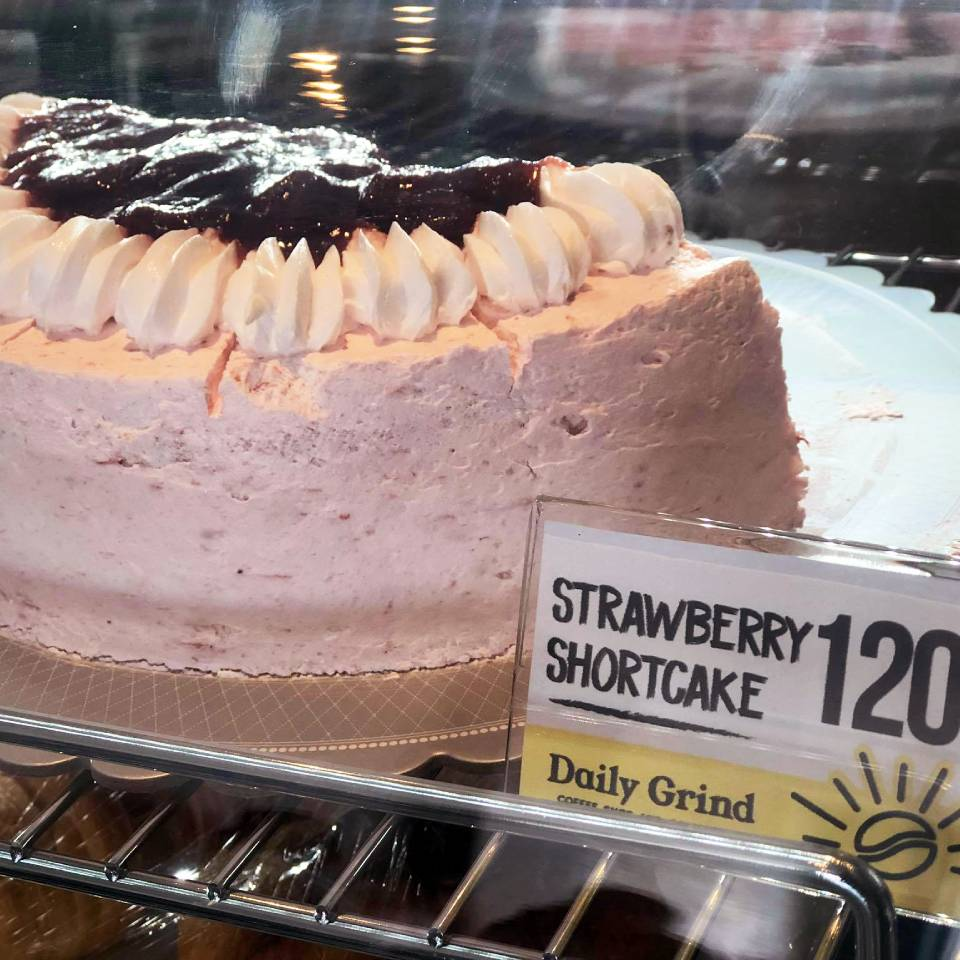 Strawberry Shortcake at Daily Grind Coffee Shop and Coworking