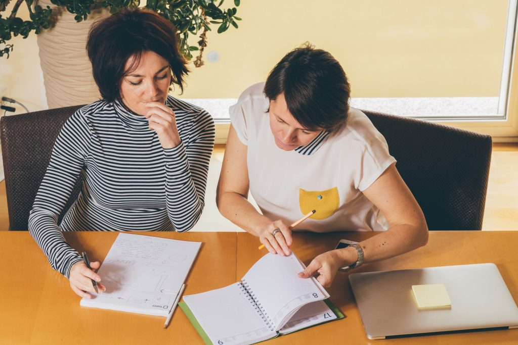 having an accountability partner helps in setting and achieving career goals